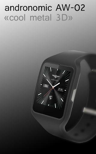 Metal 3DWatch Face AW-02