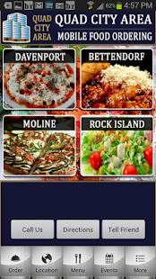 Quad City Mobile Food Ordering - screenshot thumbnail