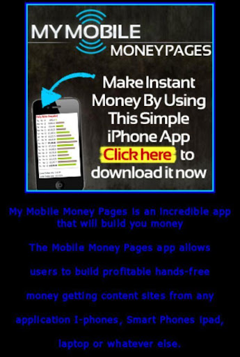 Your Mobile Money App