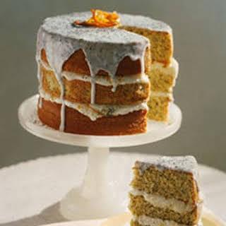 Citrus Poppyseed Cake.