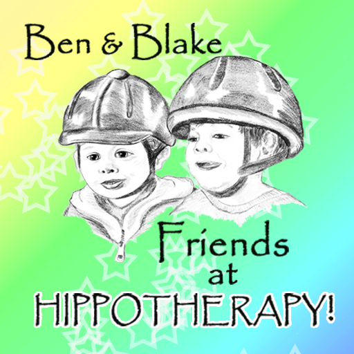 Ben & Blake At Hippotherapy! 書籍 App LOGO-APP試玩
