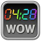 Rainbow Clock Widget (WOW) icon