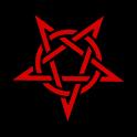 Pentagram Satan Clock Widget icon