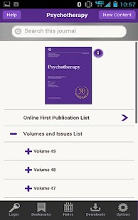 APA Psychotherapy- screenshot thumbnail