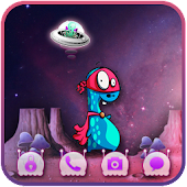 Space Ufo Theme Go Locker