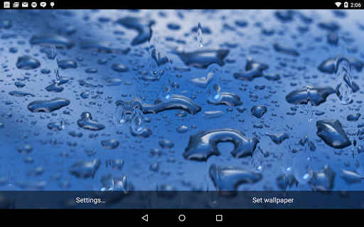 Drops Live Wallpaper
