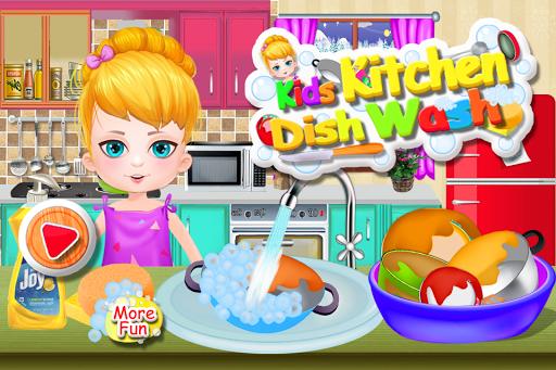 洗碗清洁游戏