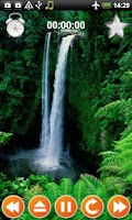 Screenshot of Waterfall Sounds Nature Sounds