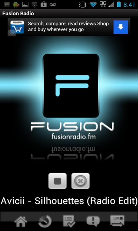 Fusion Radio App - screenshot
