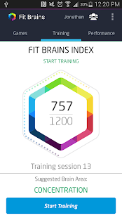 Fit Brains Trainer- screenshot thumbnail