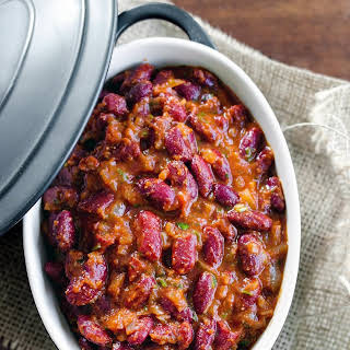Red Kidney Bean Curry with Rice (Rajmah Chawal).