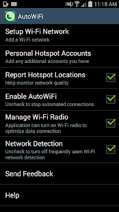 Cricket's AutoWiFi - screenshot thumbnail