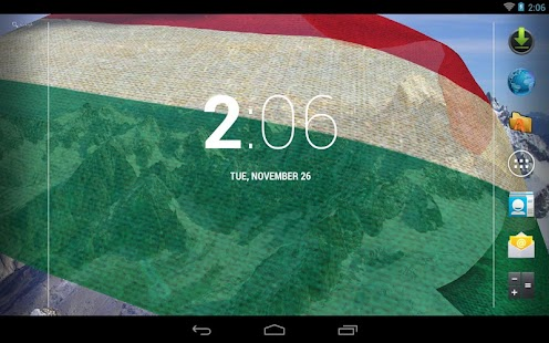 3D Hungary Flag Live Wallpaper - screenshot thumbnail