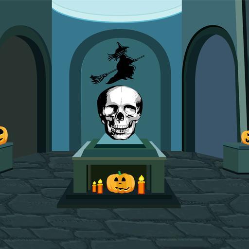 Halloween Skull Room Escape