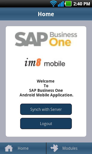 SAP Business One - iM8 Mobile