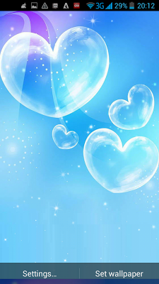 Love Heart Live Wallpaper - screenshot
