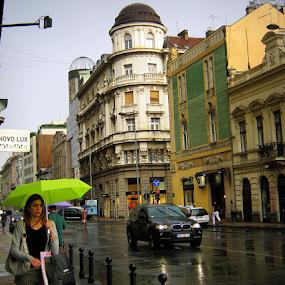 by Tatjana Koljensic - City,  Street & Park  Street Scenes