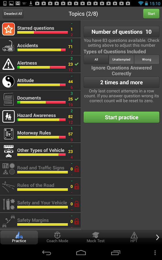 Driving Theory Test - screenshot