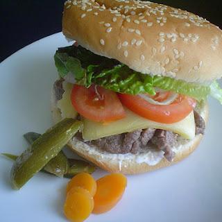 Flank Steak Burgers.
