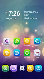 Shine GO Launcher Theme- screenshot thumbnail