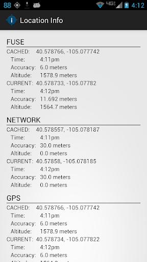 Location Info