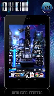 玩個人化App Space City Free 3D LWP免費 APP試玩