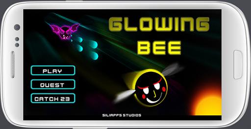 Glowing Bee