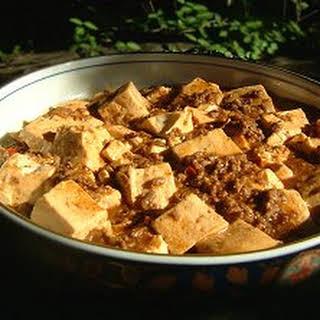 Japanese-style Mapo Tofu.
