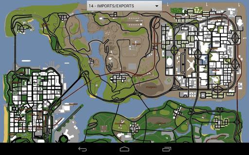 Download GTA San Andreas Map Free Google Play softwares