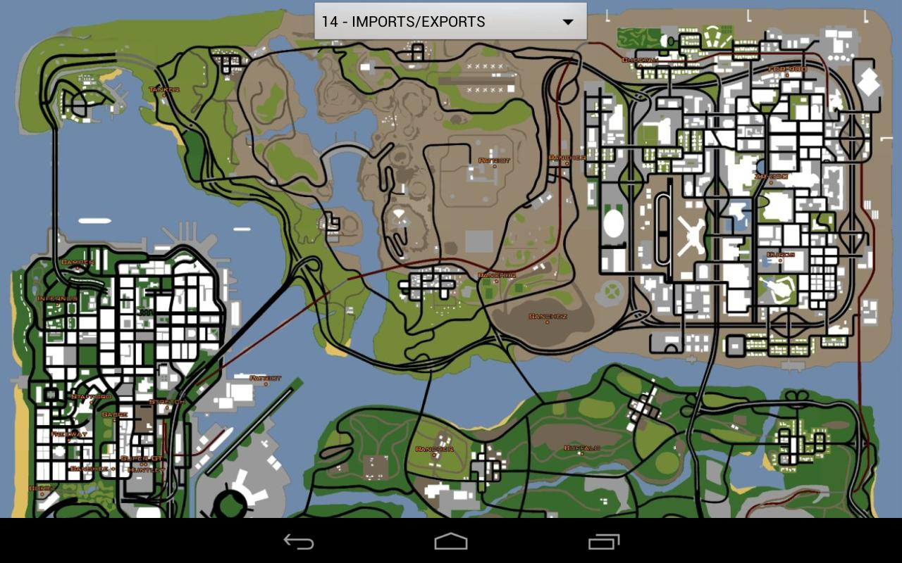 GTA San Andreas Map Unofficial - screenshot