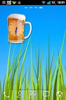 Screenshot of Beer Clock