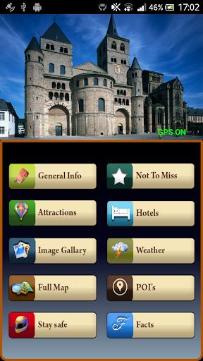 Trier Offline Map Guide