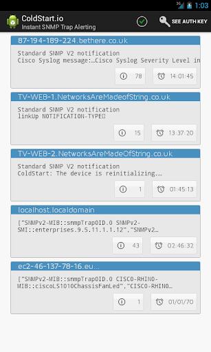 ColdStart - Instant SNMP Traps