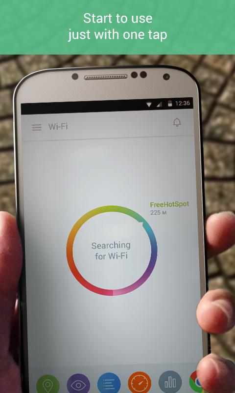 osmino Wi-Fi: free WiFi - screenshot
