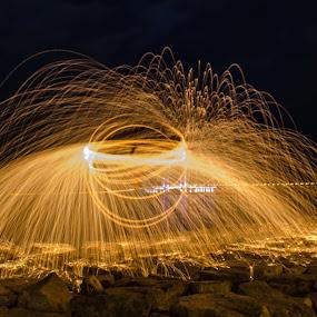 by Faizal Firdaus - Abstract Fire & Fireworks