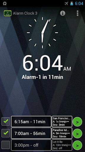 Alarm Clock 3 - music alarm