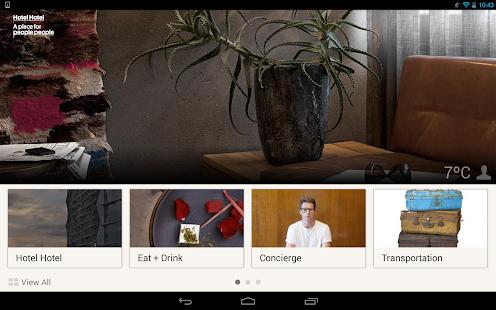 Hotel Hotel Canberra screenshot