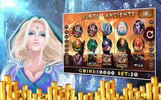 Screenshot of Ancients: Casino Slots Pokies