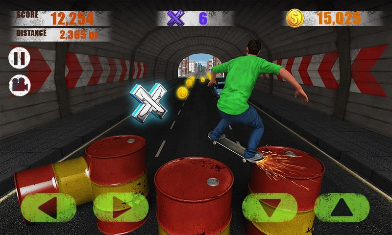 Street Skater 3D - screenshot