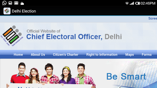 Delhi Election- screenshot thumbnail