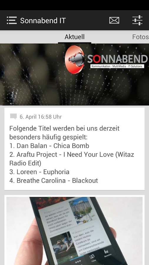 Sonnabend IT - screenshot