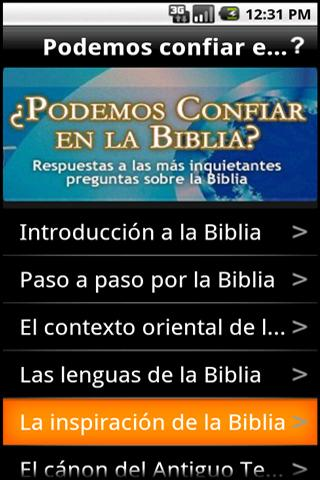 Podemos confiar en la Biblia?- screenshot
