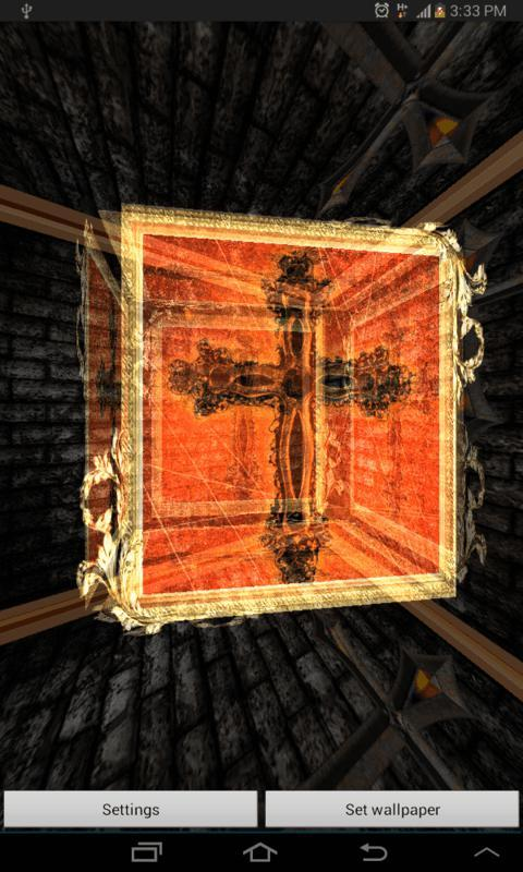3D Holy Cross Live Wallpaper- screenshot