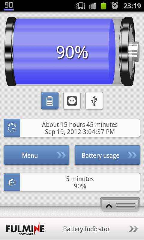 Battery Indicator - screenshot