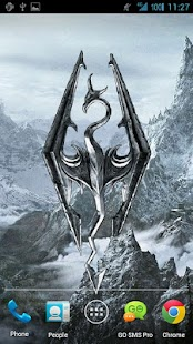 Skyrim Live Wallpaper - screenshot thumbnail