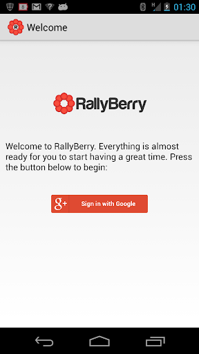 RallyBerry Beta