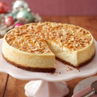 Caramel-Nut Cheesecake.