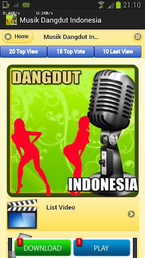 Musik Dangdut Indonesia