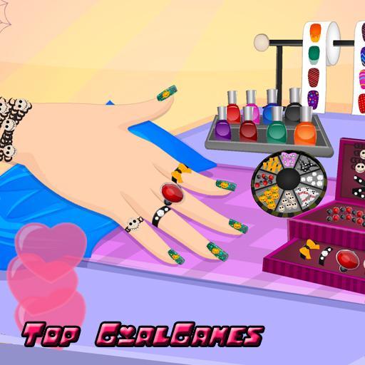 家庭片App|蜘蛛網釘:迷你遊戲,美甲沙龍和改造與五顏六色的化妝! LOGO-3C達人阿輝的APP