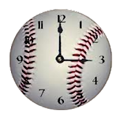 Pittsburgh Pirates clock widgt
